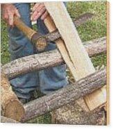 Cedar Shake Shingle Wood Print