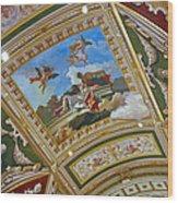 Ceiling Inside Venetian Hotel Wood Print