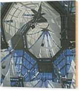 Ceiling Sails Wood Print