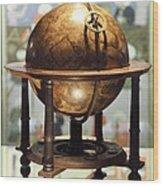 Celestial Globe, 17th Century Wood Print