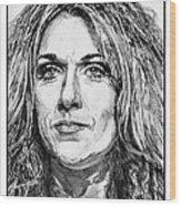 Celine Dion In 2008 Wood Print by J McCombie