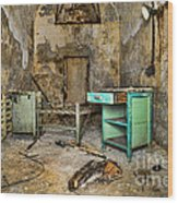 Cell Block 5 Wood Print by Paul Ward