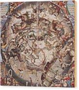 Cellariuss Constellations, 1660 Wood Print