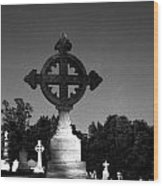 Celtic Cross- Natchez Mississippi Wood Print