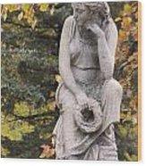 Cemetery Statue 1 Wood Print