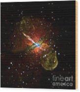 Centaurus A Wood Print by Nasa