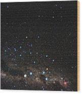Centaurus Constellation Wood Print