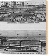 Centennial Expo, 1876 Wood Print by Granger