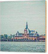 Central Railroad Terminal Of New Jersey Wood Print