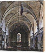 Centuries Old Church Wood Print