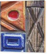 Ceramic Tiles Wood Print
