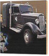 Cfac 36 Dodge Wood Print