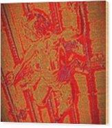 Chacha's Cherub Wood Print