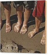 Chaco Sandals Wood Print