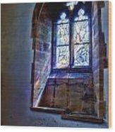 Chagall Window Wood Print