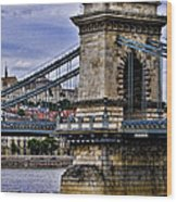 Chain Bridge  Budapest Wood Print