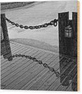 Chained Together Wood Print