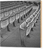 Chair Seating In An Arena With Oak Leaf Wood Print