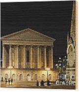 Chamberlain Square Wood Print