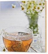Chamomile Tea Wood Print