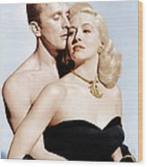 Champion, From Left Kirk Douglas Wood Print