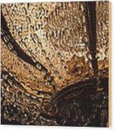 Chandelier Shimmer Wood Print
