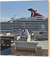 Channelside Tampa Wood Print