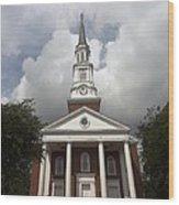 Chapel At Eleven Wood Print