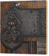 Chapel Door Wood Print