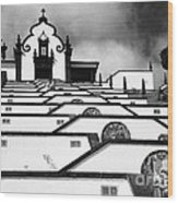 Chapel In Azores Wood Print