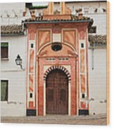 Chapel Of Conception In Cordoba Wood Print