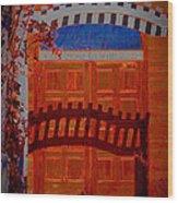 Chapel Of Love Wood Print