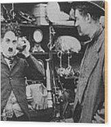 Chaplin: The Pawnshop Wood Print