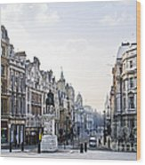 Charing Cross In London Wood Print