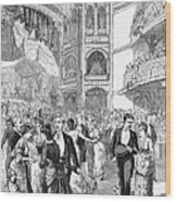 Charity Ball, 1880 Wood Print by Granger