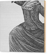 Charles Deon De Beaumont Wood Print