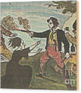 Charles Gibbs, American Pirate Wood Print by Photo Researchers