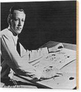 Charles M. Schulz, 1922-2000, American Wood Print by Everett
