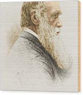Charles Robert Darwin, English Wood Print