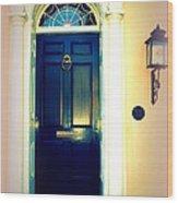 Charleston Door 1 Wood Print