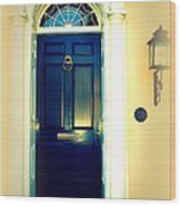 Charleston Door 2 Wood Print