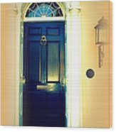 Charleston Door 3 Wood Print