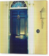 Charleston Door 4 Wood Print
