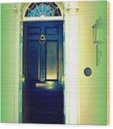 Charleston Door 5 Wood Print