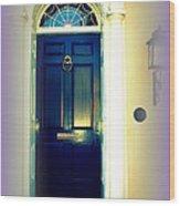 Charleston Door 6 Wood Print