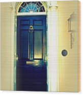 Charleston Door 7 Wood Print