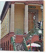 Charleston Market1 Wood Print