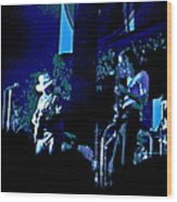 Winterland Blues 1975 Wood Print