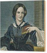 Charlotte Bronte Wood Print by Granger