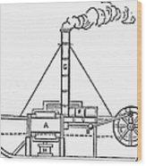 Charlotte Dundas, 1801 Wood Print